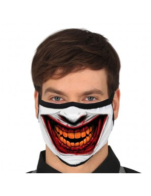 Masque réutilisable Joker 3 couches