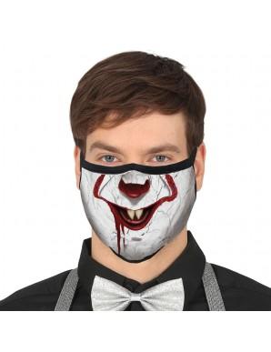 Clown reusable mask 3 layers