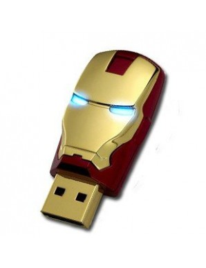 Iron Man USB Flash Drive - Red Head - Avengers...