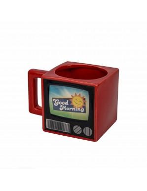 Retro TV Mug with colour change