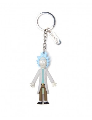 Keychain 3D Rick and Morty - Rick 5 cm