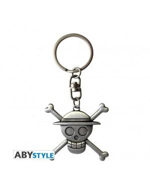 Porte-clés Métal - One Piece - Tête de Mort Luffy