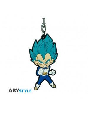PVC Keychain - Vegeta Saiyan Blue - Dragon Ball...