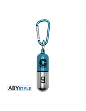 Aluminum Keychain - Dragon Ball - Capsule Blue