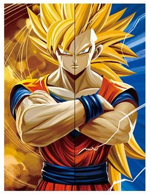 Poster Framed Wall Dragon Ball Goku Decor 3D...