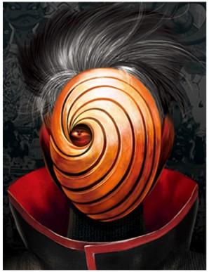 Poster Framed - Naruto - Mask - 3D Print - 30x40cm