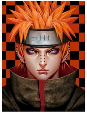 Décor Mural Encadré - Naruto - Visages -...