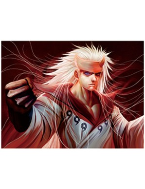 Poster Framed - Naruto - The Power - 3D Print -...