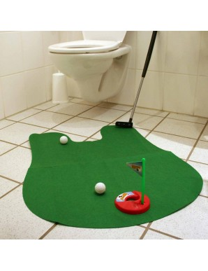 Golf game for the Toilet