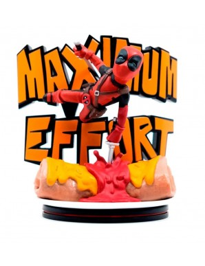 Deadpool Maximum Effort 14 cm Marvel diorama Q-Fig MAX