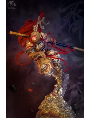 Myth Series: Red Monkey King 1:4 Scale Statue
