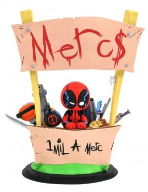 Deadpool statuette - Marvel - Merc à Louer - 20 cm