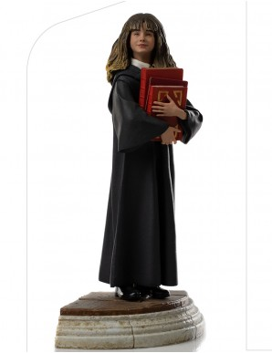 Harry Potter at the school of wizards statuette...
