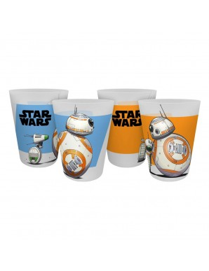 Star Wars IX pack 4 cups